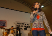 Leeann hosting the USO Show in Kuwait; 2007